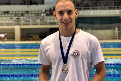 Урош Ђоковић најбољи пливач јуниор у мушкој конкуренцији