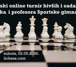 "Онлајн шаховски турнир ""Спортска гимназија 2020."""