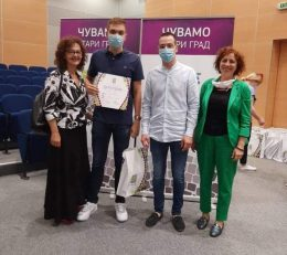 Додела награде носиоцима Вукових диплома на општини Стари град